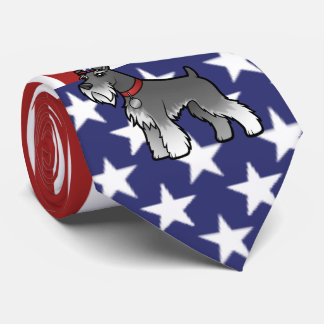 Add Your Own Pet and Flag Tie