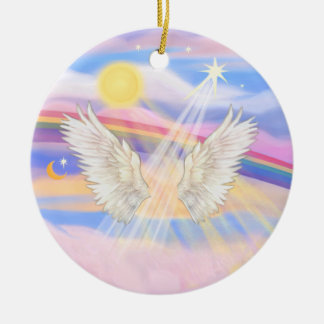 Add your own pet - Rainbow Bridge Christmas Ornament