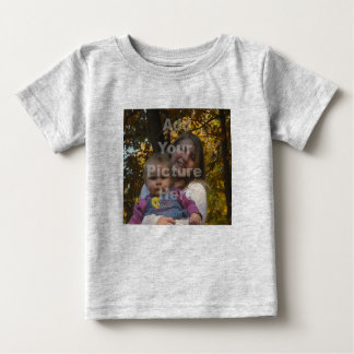 Add Your Own Photo Baby Tshirt