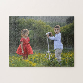 ADD YOUR OWN PHOTO OR TEXT JIGSAW PUZZLE