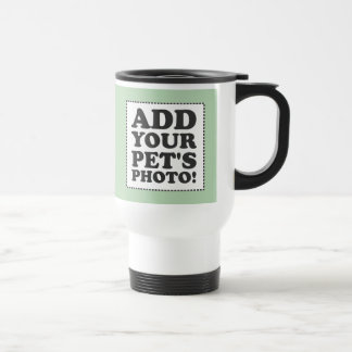 """Add Your Own Photo"" Stainless Steel Travel Mug"