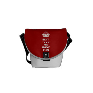 Add your own text here! commuter bag