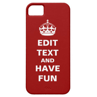 Add your own text here! iPhone 5 cases