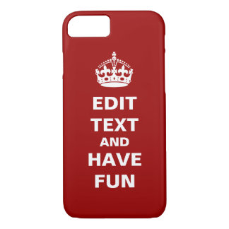 Add your own text here! iPhone 7 case