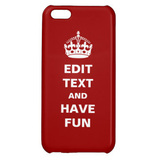 Add your own text here iPhone 5C case