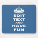 Add your own text here! mouse mats