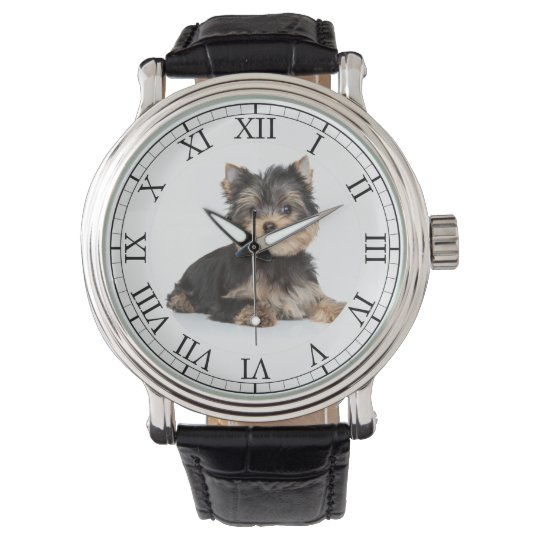Add Your Pet's Photo Cute Dog Picture Wristwatch