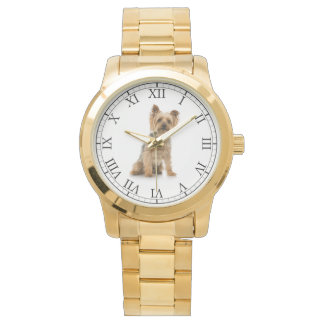 Add Your Pet's Photo Cute Dog Portrait Watch