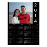 Add Your Photo 2014 Calendar Poster