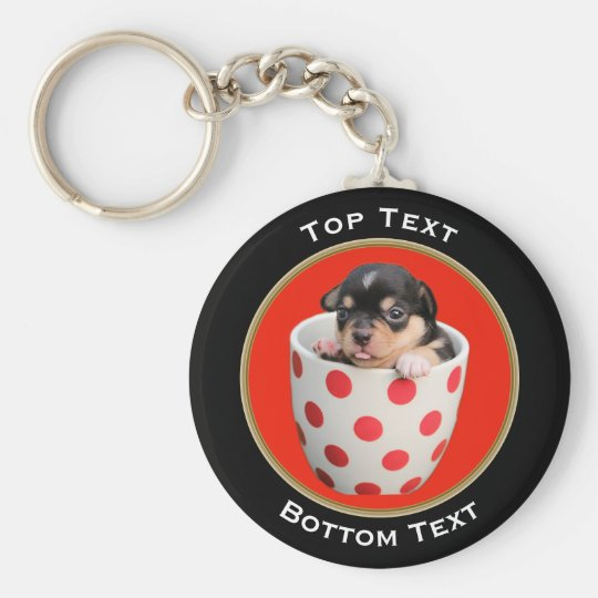 Add Your Photo and Text Custom Key Ring