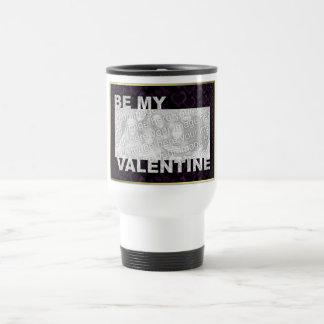 ADD Your Photo Be My Valentine Frame - Goth Hearts Mug
