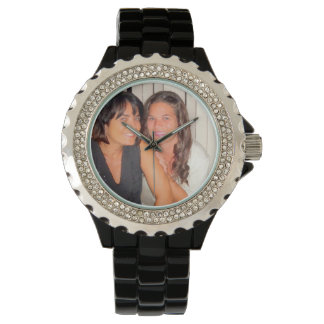 Add Your Photo Beautiful Sisters Watch