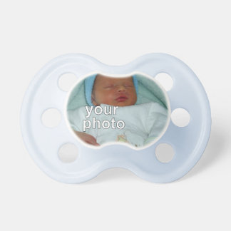 Add your photo - Blue Pacis Pacifiers
