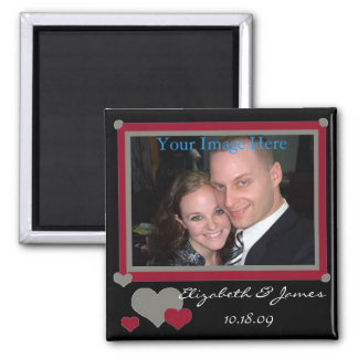 Add Your Photo Couple In Love Magnet