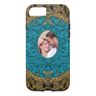 Add Your Photo Elegant Baroque IV Chic iPhone 7 Case