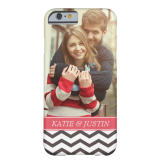 """Add Your Photo"" Love Couple Personalized Barely There iPhone 6 Case"