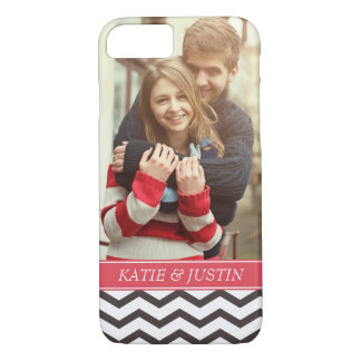 """Add Your Photo"" Love Couple Personalized iPhone 7 Case"