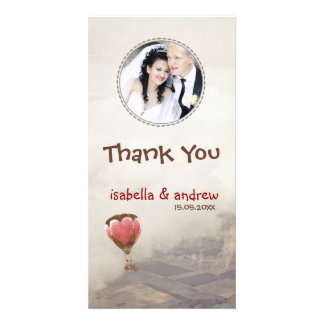Add Your Photo Love Dream Thank You Photo Picture Card
