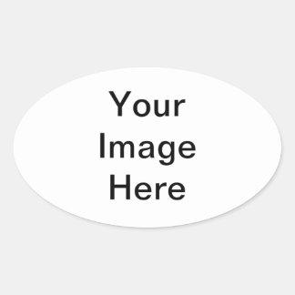 Add Your Photo Oval Sticker