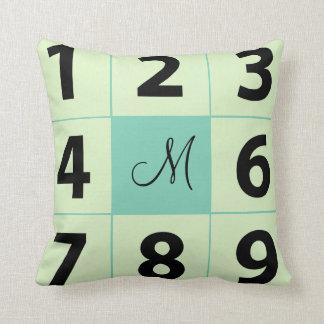 Add your  photos instagram throw pillow monogram