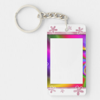 Add Your Pic Double-sided Keychain