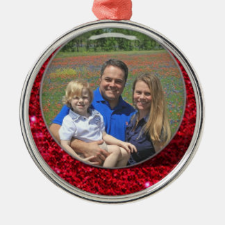 Add Your Picture Name Ornament Custimize