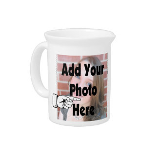 Add your special Photograph Picture Pitcher