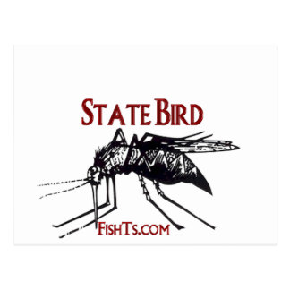 Add Your State Name-State Bird Postcard