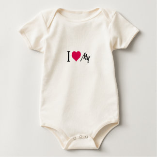 Add your text baby bodysuit