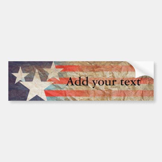 Add your text bumper sticker