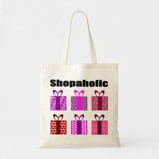 Addict SHOPAHOLIC Budget Tote Bag