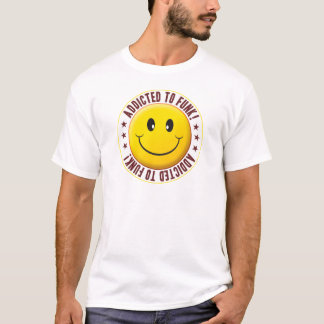 Addicted Funk Smiley T-Shirt