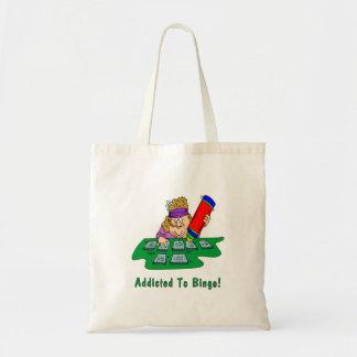 Addicted To Bingo! Tote Bag