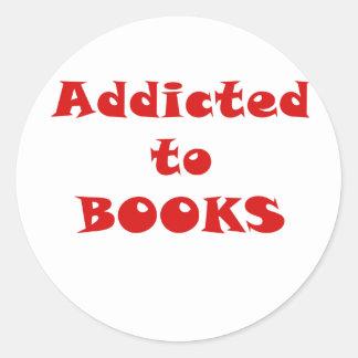Addicted to Books Sticker