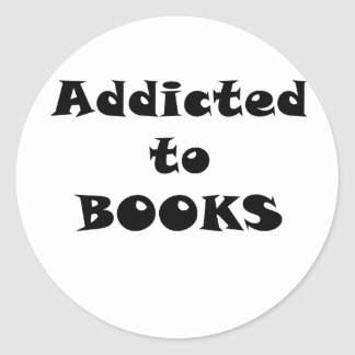 Addicted to Books Sticker