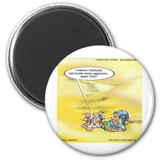 Addicted To Coffee By Londons Times Cartoons Magnets