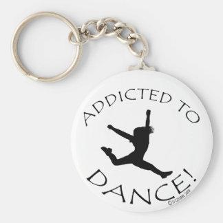 Addicted to Dance Keychain
