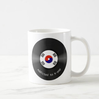 Addicted to Kpop mug