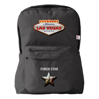 Addicted to Las Vegas, Nevada Funny Sign Backpack