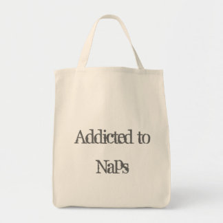 Addicted to Naps Tote Bag