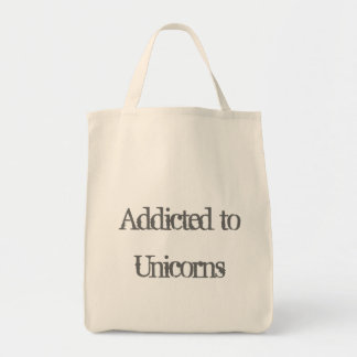 Addicted to Unicorns Tote Bag
