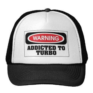 Addicted Turbo Trucker Hats