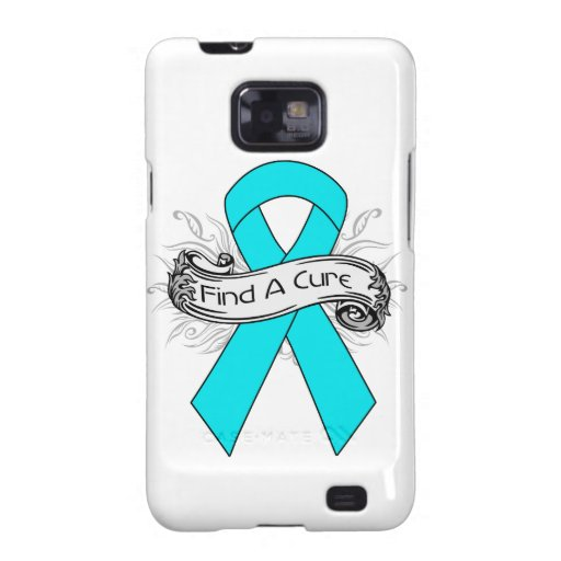 Addiction Awareness Find A Cure Ribbon Galaxy S2 Cases