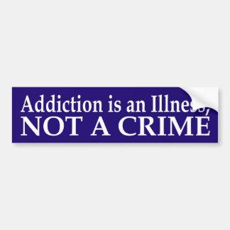 Addiction is an Illness Bumper Sticker