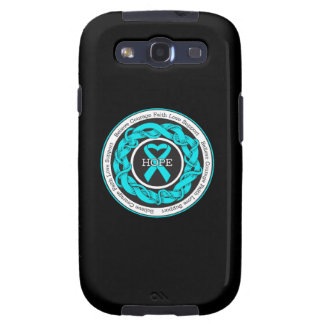 Addiction Recovery Hope Intertwined Ribbon Samsung Galaxy SIII Cover