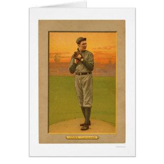 Addie Joss Cleveland Baseball 1911 Greeting Card