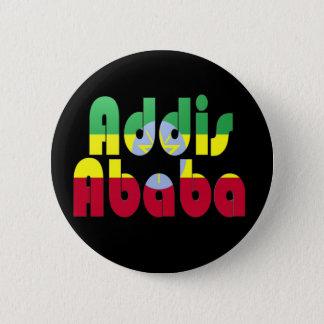 Addis Ababa, Ethiopia 6 Cm Round Badge