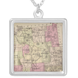 Addison County, Vermont Silver Plated Necklace