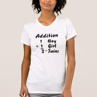 Addition - Boy/Girl Twin T-Shirt