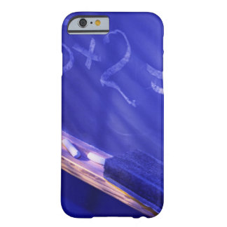 Addition on elementary school chalkboard barely there iPhone 6 case